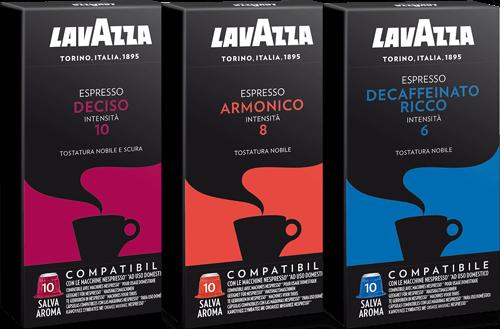 200 LAVAZZA Capsules Compatible Nespresso