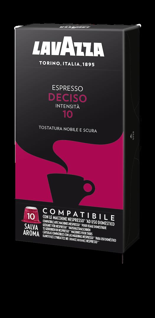 100 LAVAZZA Capsules Compatible Nespresso DECISO