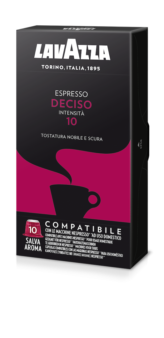 200 LAVAZZA Capsules Compatible Nespresso DECISO