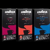 100 LAVAZZA Capsules Compatible Nespresso Choose Your Flavor