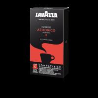 200 LAVAZZA Capsules Compatible Nespresso ARMONICO