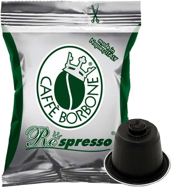 100 Capsule Borbone Respresso Compatibili Nespresso Decaffeinato