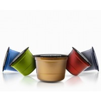 100 Capsule CAFFITALY - E'CAFFE' - BEST ORIGINS - PREMIUM
