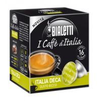 16 Capsule Caffe' BIALETTI Gusto ITALIA DECA