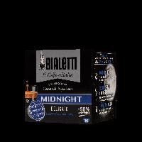 16 Capsule Caffe' BIALETTI Gusto MIDNIGHT Delicato