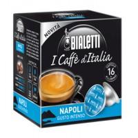 16 Capsule Caffe' BIALETTI Gusto NAPOLI Intenso