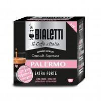 16 Capsule Caffe' BIALETTI Gusto PALERMO Extra Forte