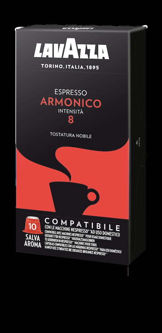 100 Capsules Lavazza Compatible Nespresso Armonico Nespresso
