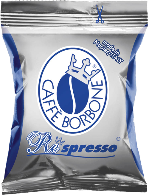 100 Nespresso Kompatible Kapseln Alternative CAFFE' BORBONE Miscela BLU